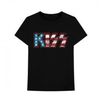 Kiss - American Flag [T-Shirt]