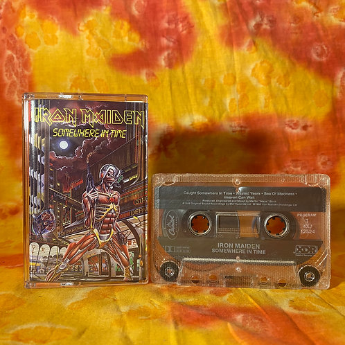 Iron Maiden - Somewhere in Time [Cassette]