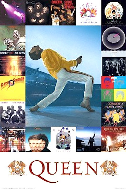 Queen Discography [Poster]