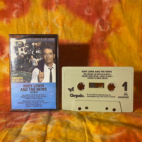 Huey Lewis and the News - Sports [Cassette]