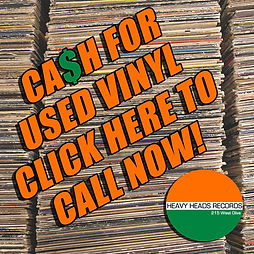 Cash for Used Vinyl Buy Sell Trade recor