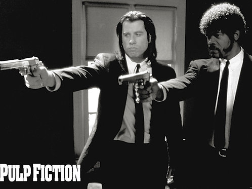 Pulp Fiction Say What Again [Poster]