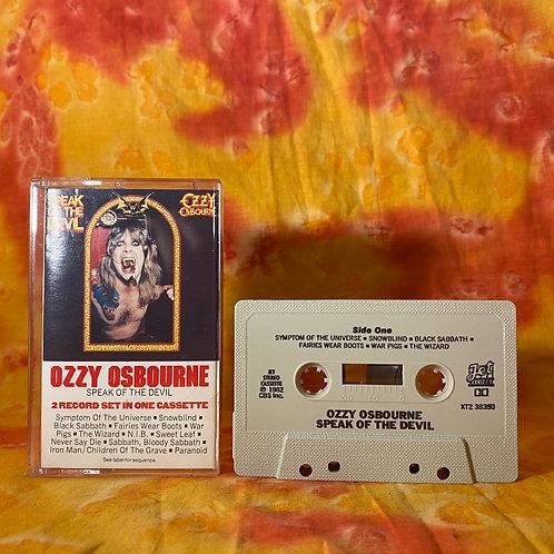 Ozzy Osbourne - Speak of the Devil [Cassette]