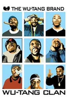 Wu Tang Clan Members [Poster]