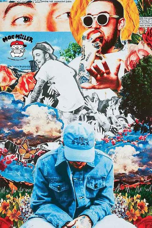 Mac Miller Collage [Poster]