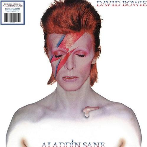 David Bowie - Aladdin Sane - Silver Vinyl Indie Exclusive - 2013 Remaster - LP