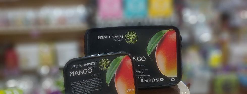 Фруктовое натуральное пюре Манго  Fresh Harvest 0,25кг