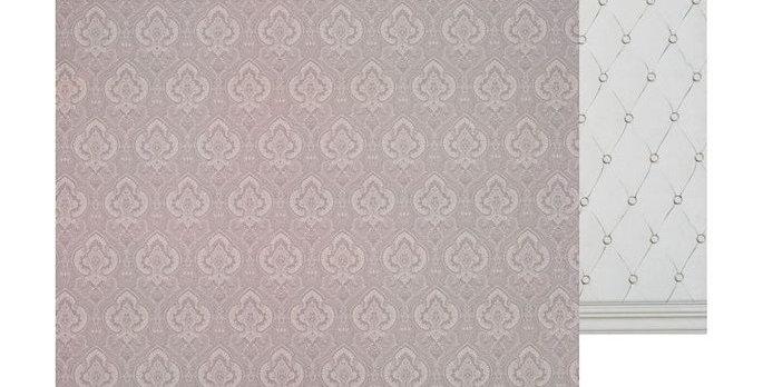 Фотофон для тортов двусторонний «Стёганая ткань», 45 × 45 см, картон