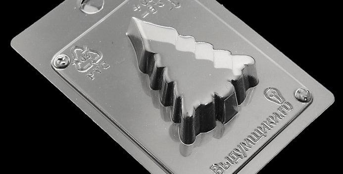 """Пластиковая форма для шоколада  """"Ёлочка"""" 7х4,5х2 см"""
