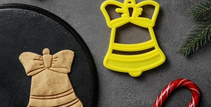 Форма для вырезки   пряников и мастики «Колокольчик»