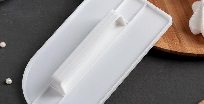 Утюжок для мастики кондитерский с ручкой 15х8х3 см