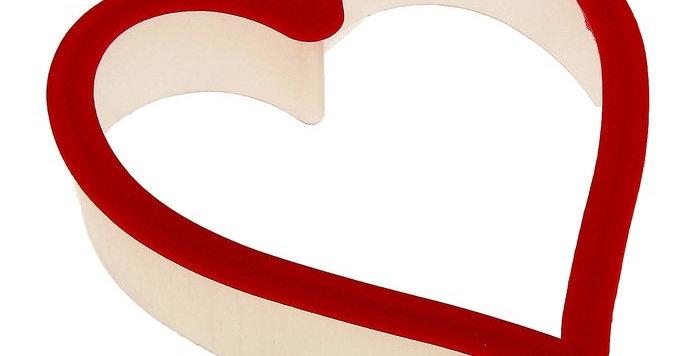 """Форма для пряников 9,5х10 см """"Сердце"""""""