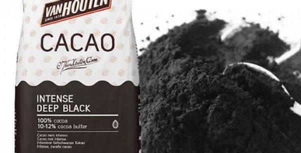 Какао порошок Barry Callebaut Intense Deep Blak черный