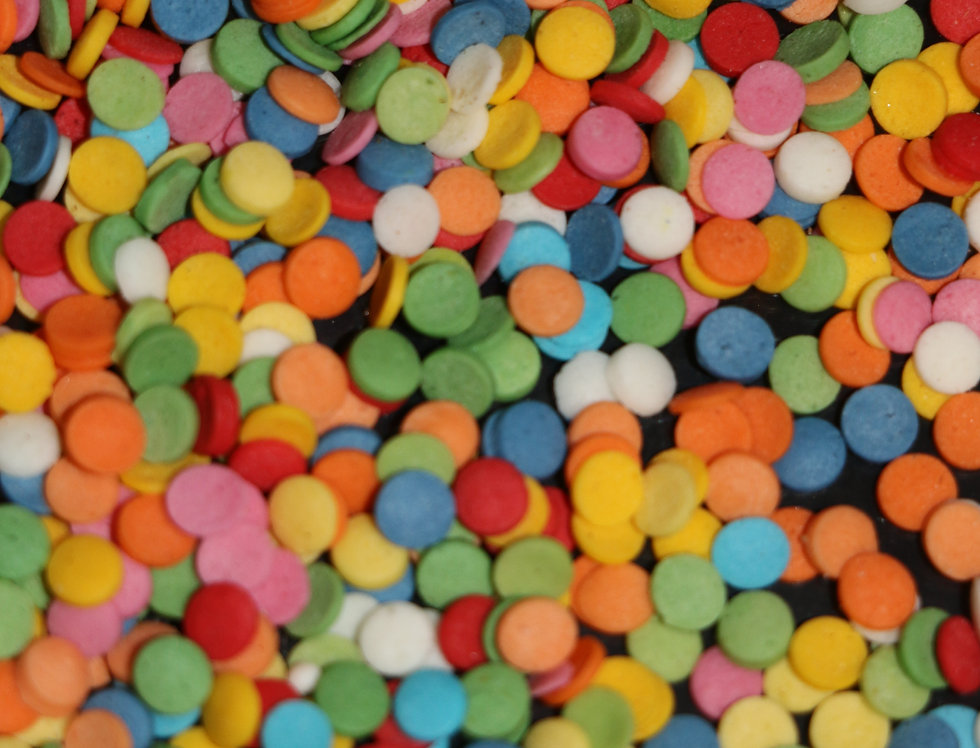 Конфити  яркий 100 гр сахарный