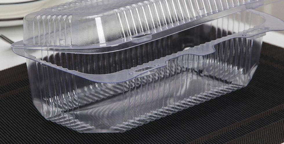 Контейнер с неразьемной крышкой для рулета ,  24×14×9 см