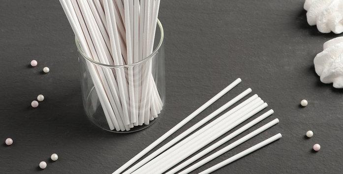 Набор палочек-дюбелей для кондитерских изделий и подарков, длина 15 см, 50 шт