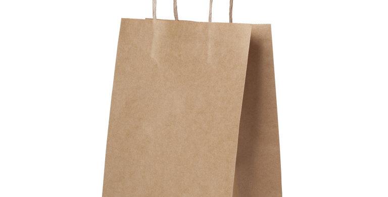 Пакет бумажный ЭКО большой  350*150*450