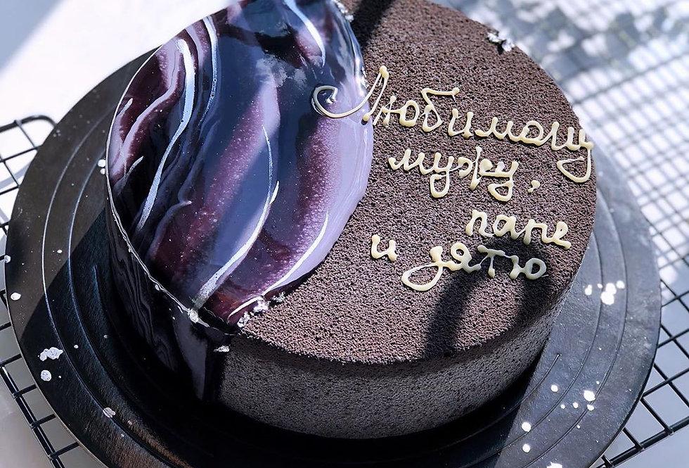 Шоколадный  ВЕЛЮР коричневый  400 мл