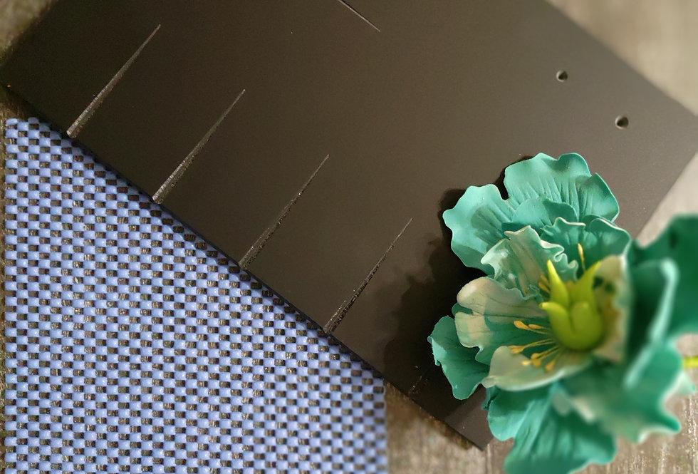 Мат доска для создания сахарных цветов (лепестков и листиков ) 25см  на 18 см