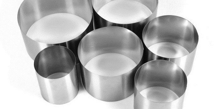 """Набор форм для выпечки и выкладки """"Круг"""", 20 /18/16/14/12/10 12 см, 6 шт."""