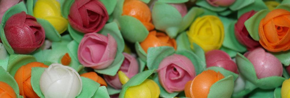 Вафельный цветок Роза ассорти