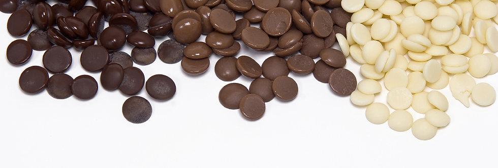 Шоколад молочный БЕЗ САХАРА 36% ICAM 250 гр