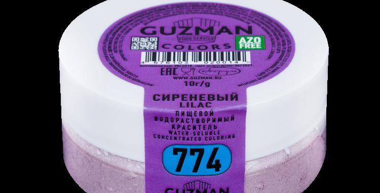 774 Сиреневый — водорастворимый краситель GUZMAN — 10г