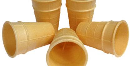 Вафельный стаканчик для мороженного без сахара