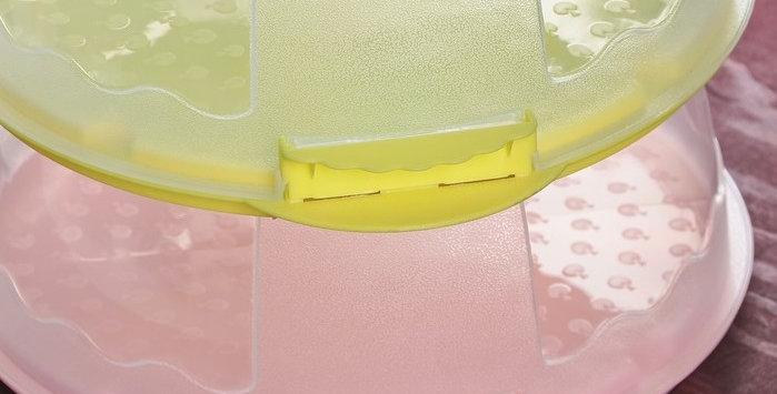 Контейнер переноска для торта 29 см × 29 см × 12 см
