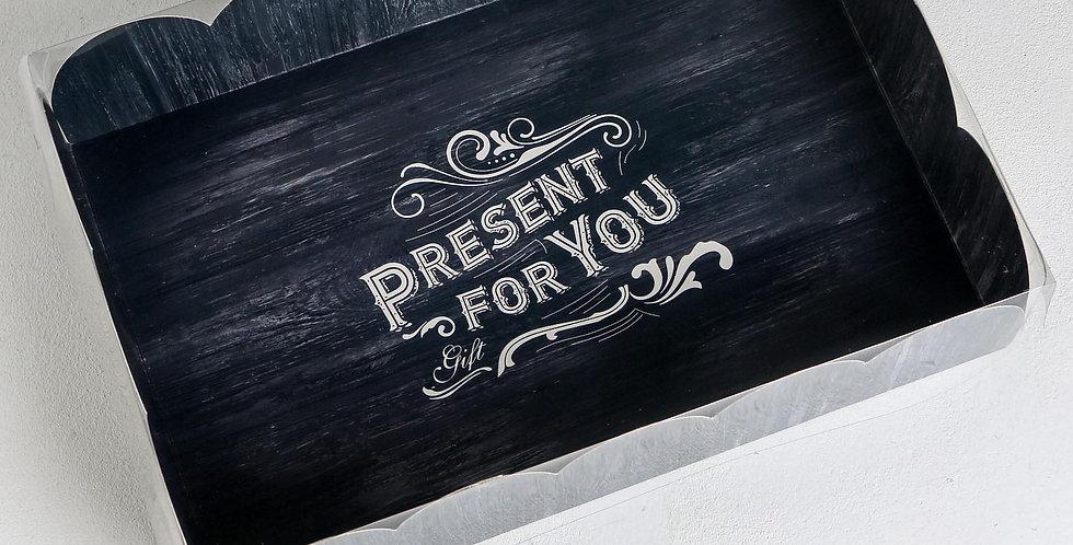 Коробка подарочная  мужская  Present for you, 20 × 30 × 8 см