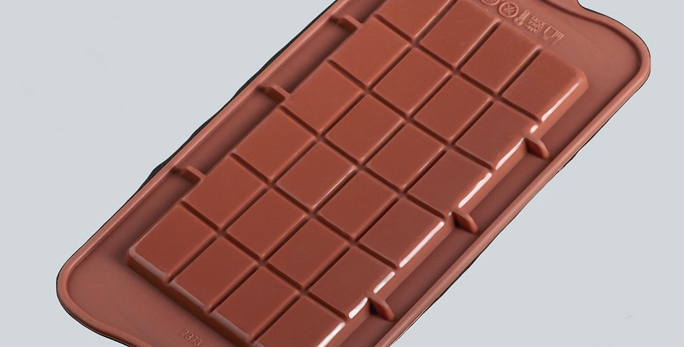 Форма для карамели  и шоколада «Плитка», 22,5×10,5×0,2 см, 24 ячейки (16×8 см)
