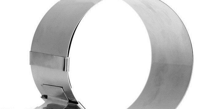 """Форма трасформер регулировкой размера """"Круг"""" ,16-20 х 8,5 см"""