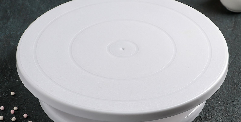 Подставка для торта вращающаяся , 28×7 см