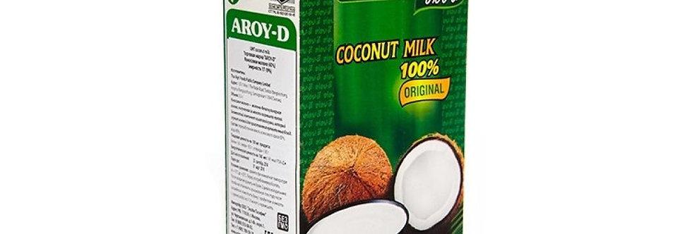 Кокосовое молоко AROY-D 70%, 1л, Tetra Pak (жирность 17-19%) - Тайланд