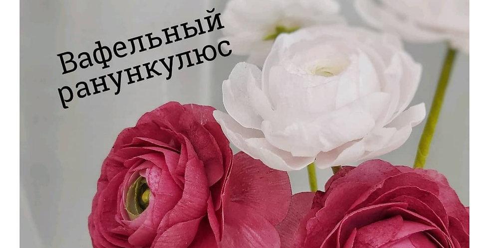 СЛАДКАЯ вафельная пищевая бумага для цветов тонкая 10 листов Primus Wafer Paper