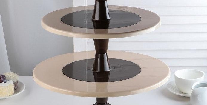 Подставка для капкейков и кондитерских изделий 3 яруса 35х43 см