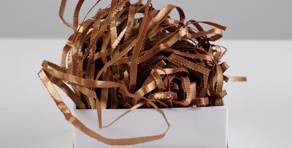 Наполнитель бумажный «Золото Казино», метализированный, 50 г