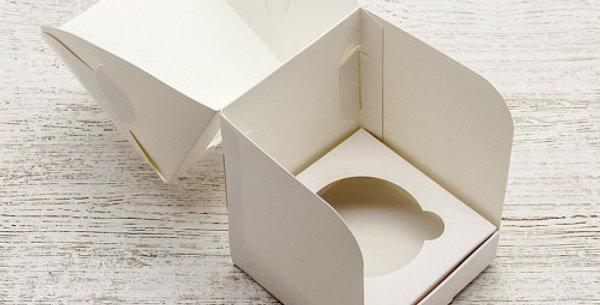 Коробка  под 1 капкейк 100*100*100
