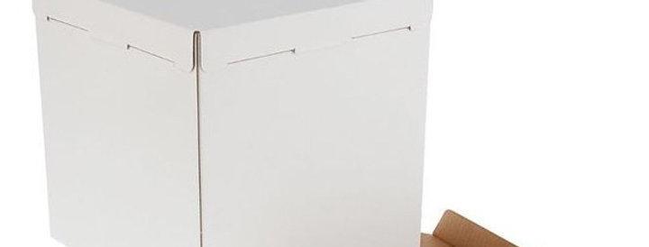 Коробка белая  300х300х300 мм  эконом