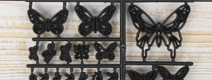 "Набор печатей для теста и марципана ""Бабочки"""