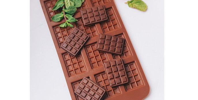 "Форма для шоколада ""Плитка мини шоколада """
