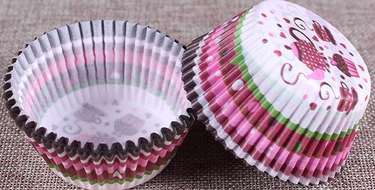 Капсулы бумажные для кексов чайпитие