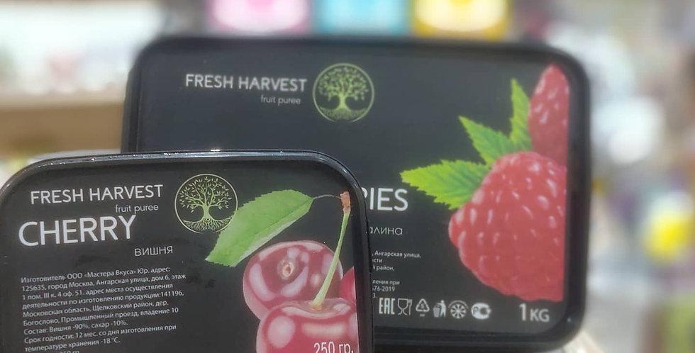 Фруктовое натуральное  пюре Вишня  Fresh Harvest 0,25кг