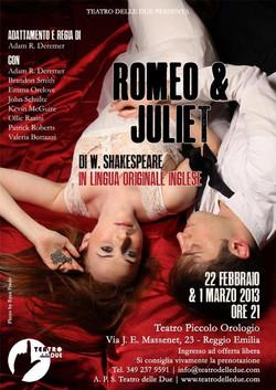 Romeo & Juliet for Teatro delle Due