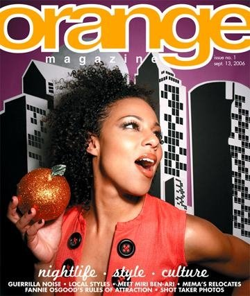 Orange Magazine - Premier Issue