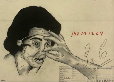 Rasmus Rinhack Titel: Obnoxious Fingers 8 30x42.JPG