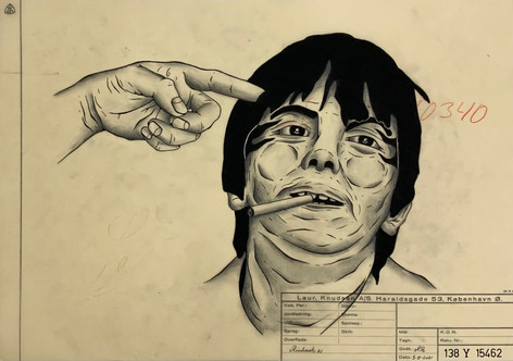 Rasmus Rinhack Titel: Obnoxious Fingers 7 30x42.JPG