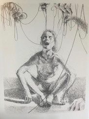 Jacoba Niepoort 74 x 56 cm - litografi