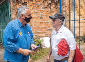 Dario Silveira apresenta propostas de governo ao bairro Estância Velha