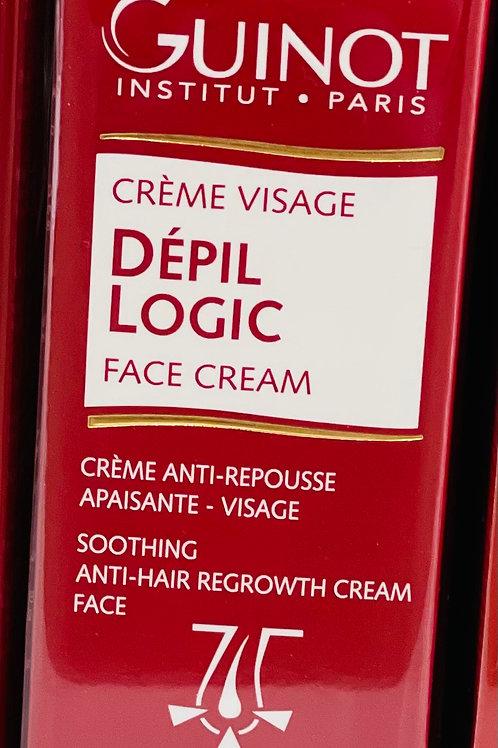 Crème Visage DEPIL LOGIC